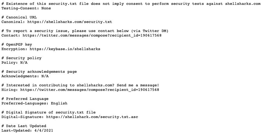 security.txt