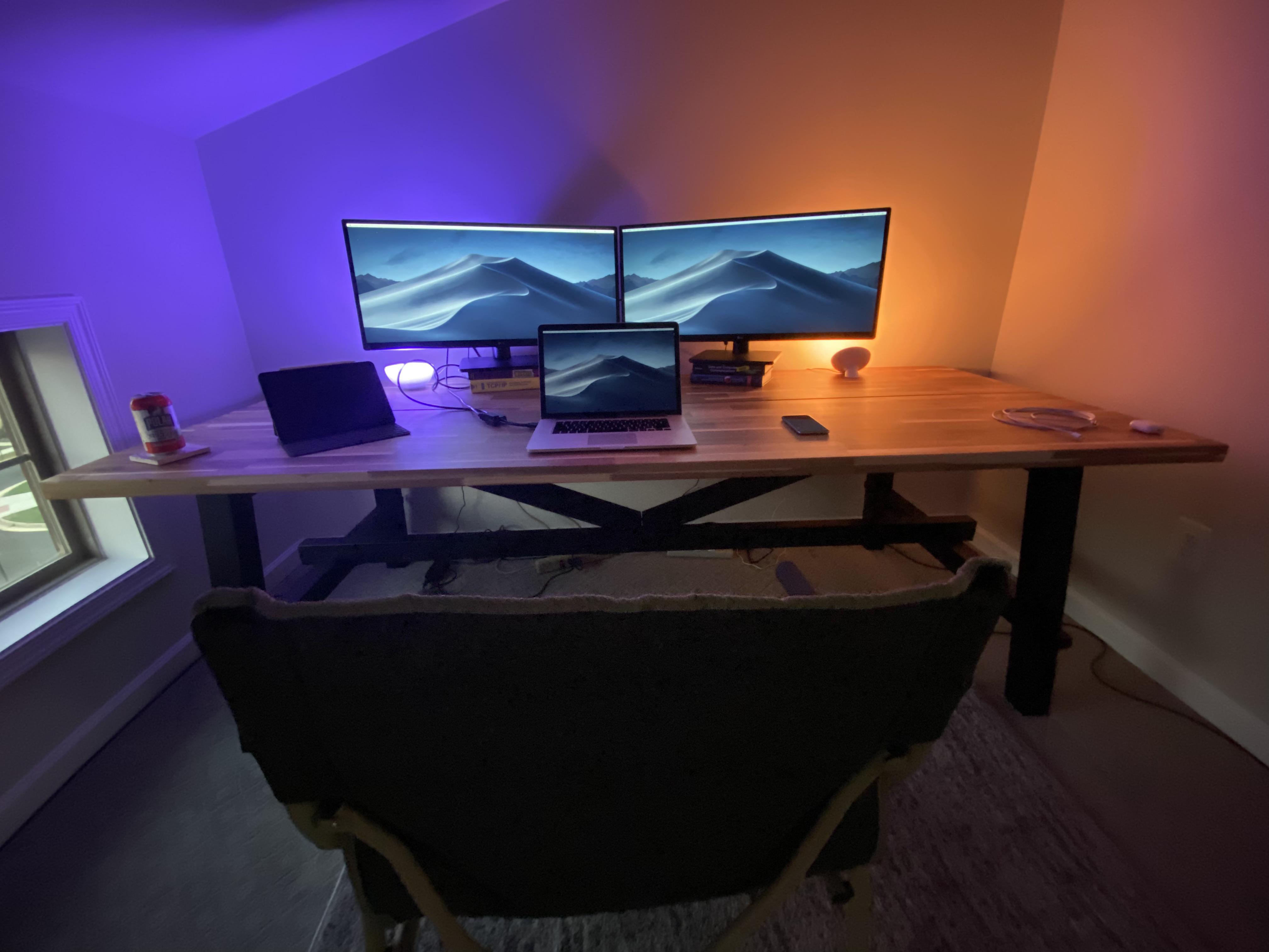 macbook led setup